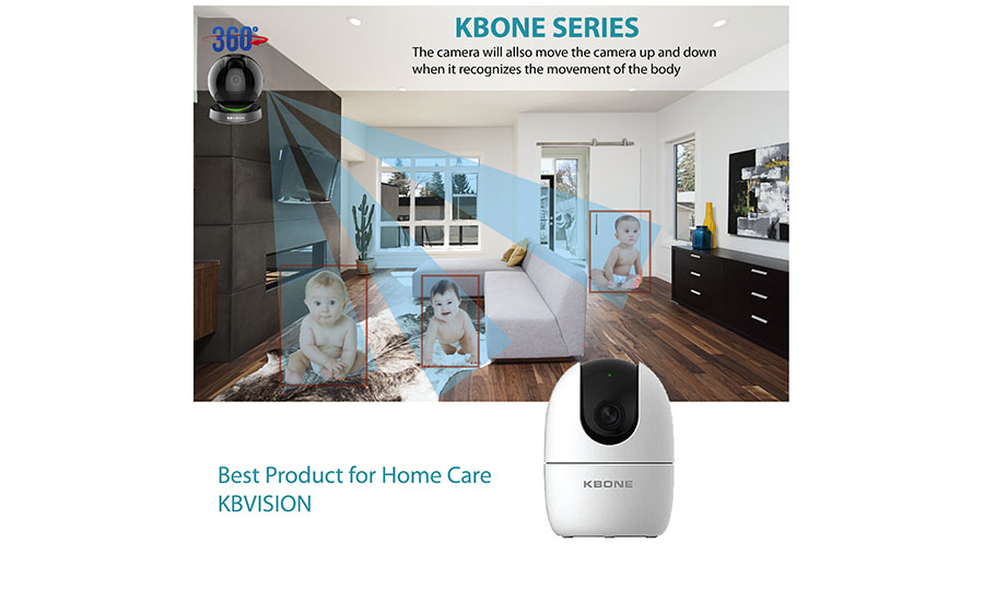 KBVISION integrates the Smart tracking function for KB One Series
