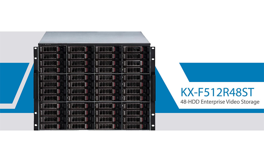 KBVISION launches the new video storage and management server
